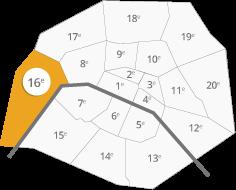 Le Tremplin se situe dans le stade Jean Bouin à Paris 16e.